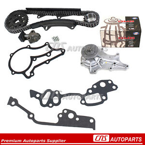 NEW 81-82 TOYOTA CELICA PICKUP 2.4L 22R DOUBLE ROW TIMING CHAIN COVER KIT