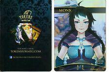 Monk Token FOIL | NM | altered Art Promo - Tokens for MTG | Magic MTG