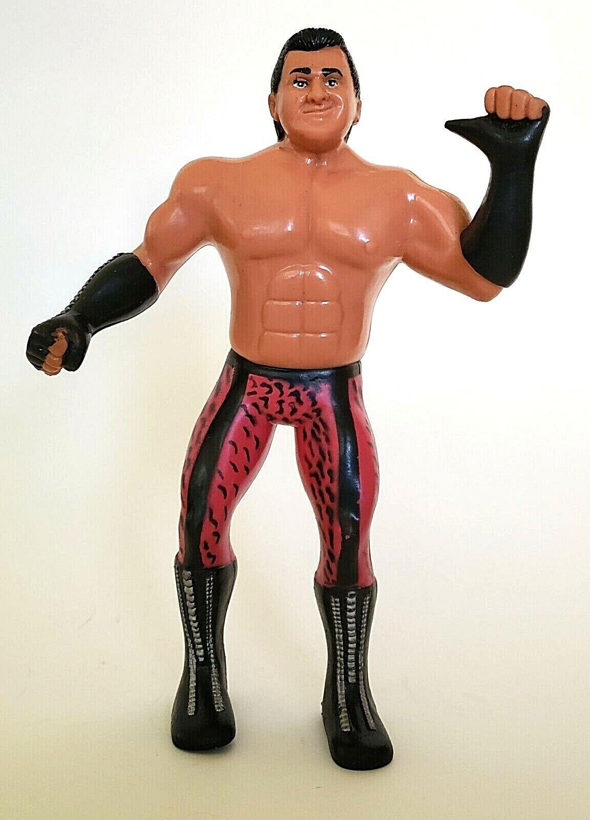 Brutus Ljn Titan Sports de pastel de Cochene 1985 figura lucha libre WWF lucha libre figura
