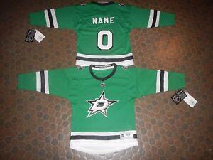 buy popular fb068 83c6c Dallas Stars Size 4/7 Replica NHL Hockey Jersey add any name ...