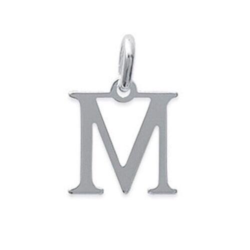 BigBang-Bijoux.com Pendentif Homme Lettre M en Argent 925-1A875A0013H
