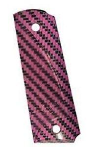 Kimber-Carbon-Fiber-grips-Full-length-Pink-Gray-No-4000925A
