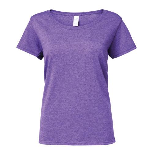 Gildan Softstyle Women/'s Deep Scoop T-Shirt 64550L