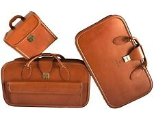 Vintage Schedoni Leather Luggage/Suitcase/Bags Set  for Ferrari 456 GT - Unused