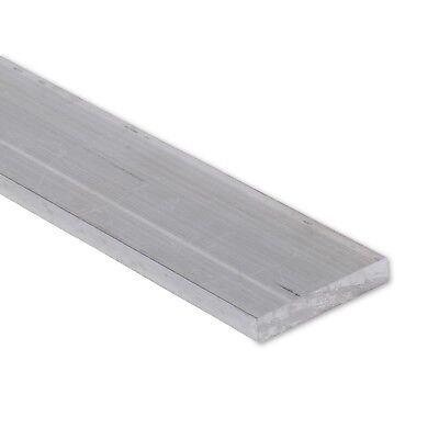 """3//8/"""" x 4/"""" Aluminum Flat Bar T6511 Mill Stock 0.375/"""" 6061 Plate 2/"""" Length"""