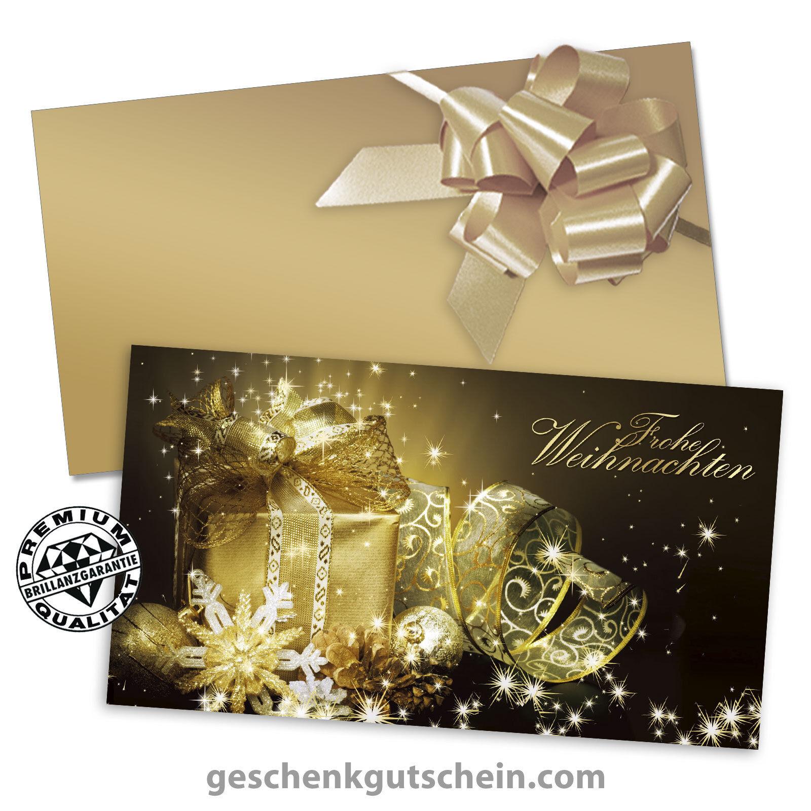 Weihnachts-Gechenkgutscheine mit KuGrüns KuGrüns KuGrüns und Schleifen für alle Branchen X1216 | Neuheit  | Sehen Sie die Welt aus der Perspektive des Kindes  609577