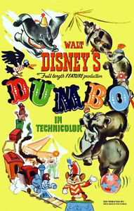 Disneyland-1941-Dumbo-Repro-Movie-Poster-Disney-Buy-Any-2-Get-1-Free