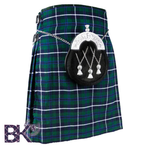 Scottish Mens Kilts 5 Yard Kilts 13oz Various Sizes and Tartans Casual Kilt