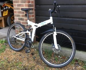 Ecosmo folding mountain bike very little used COLLECTION ONLY