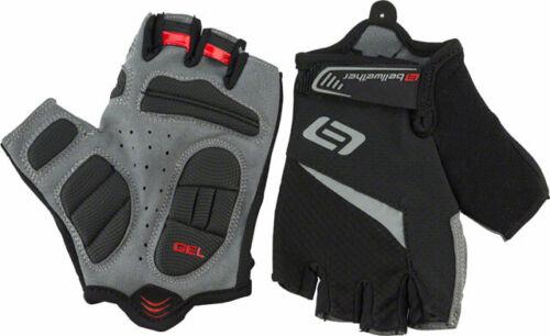 Bellwether Ergo Gel Men/'s Short Finger Glove Black 2XL