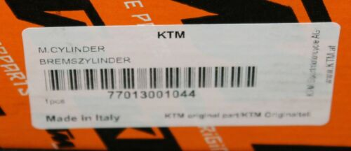 KTM PowerParts FRONT HAND BRAKE MASTER CYLINDER 77013001044 BREMBO BRAKES
