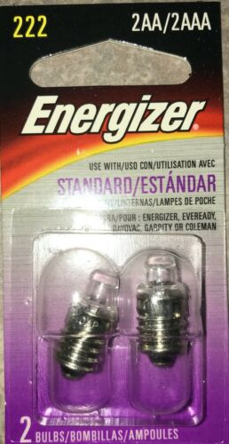 Energizer 222 2-AA//2AAA 2.2//V Flash Ampoules 2pk-MADE IN JAPAN