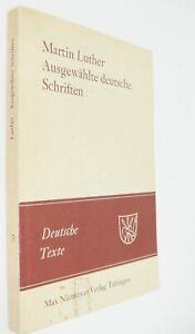 Martin Luther Schriften