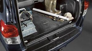 NEW OEM TOYOTA 4RUNNER BLACK CARGO MAT 102016 WO 3RD ROW SEAT W