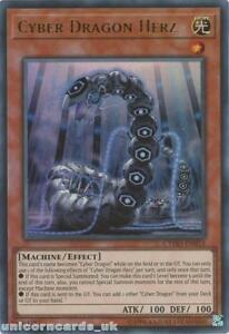 CYHO-EN015-Cyber-Dragon-Herz-Ultra-Rare-UNL-Edition-Mint-YuGiOh-Card
