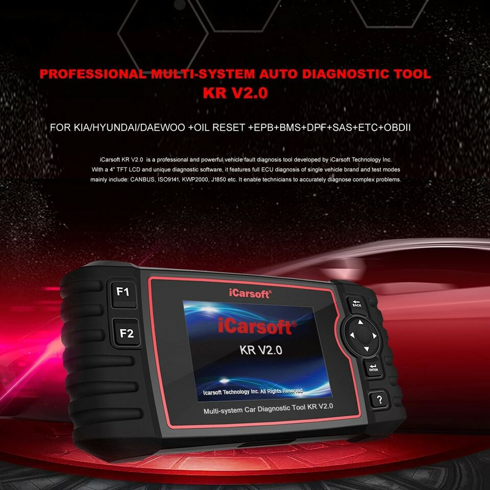 Icarsoft KR V2.0 Tester FOR KIA HYUNDAI DAEWOO...