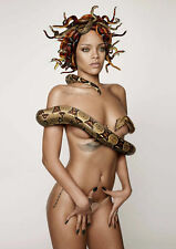 Rihanna POSTER PICTURE FOTO STAMPA A4 260GSM