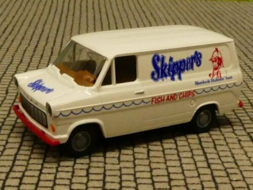1//87 Brekina Ford Transit skippers fish and chips 34059