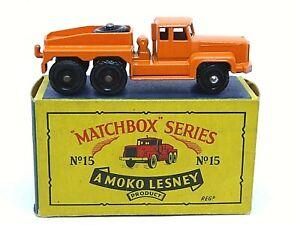 Matchbox-Lesney-No-15b-Rotinoff-Super-Atlantico-promotor-tipo-039-B4-039-Caja-de-la-serie