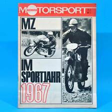 DDR Illustrierter Motorsport IMS 1/1968 MZ Simca 1100 BMC 1800 Pininfarina A