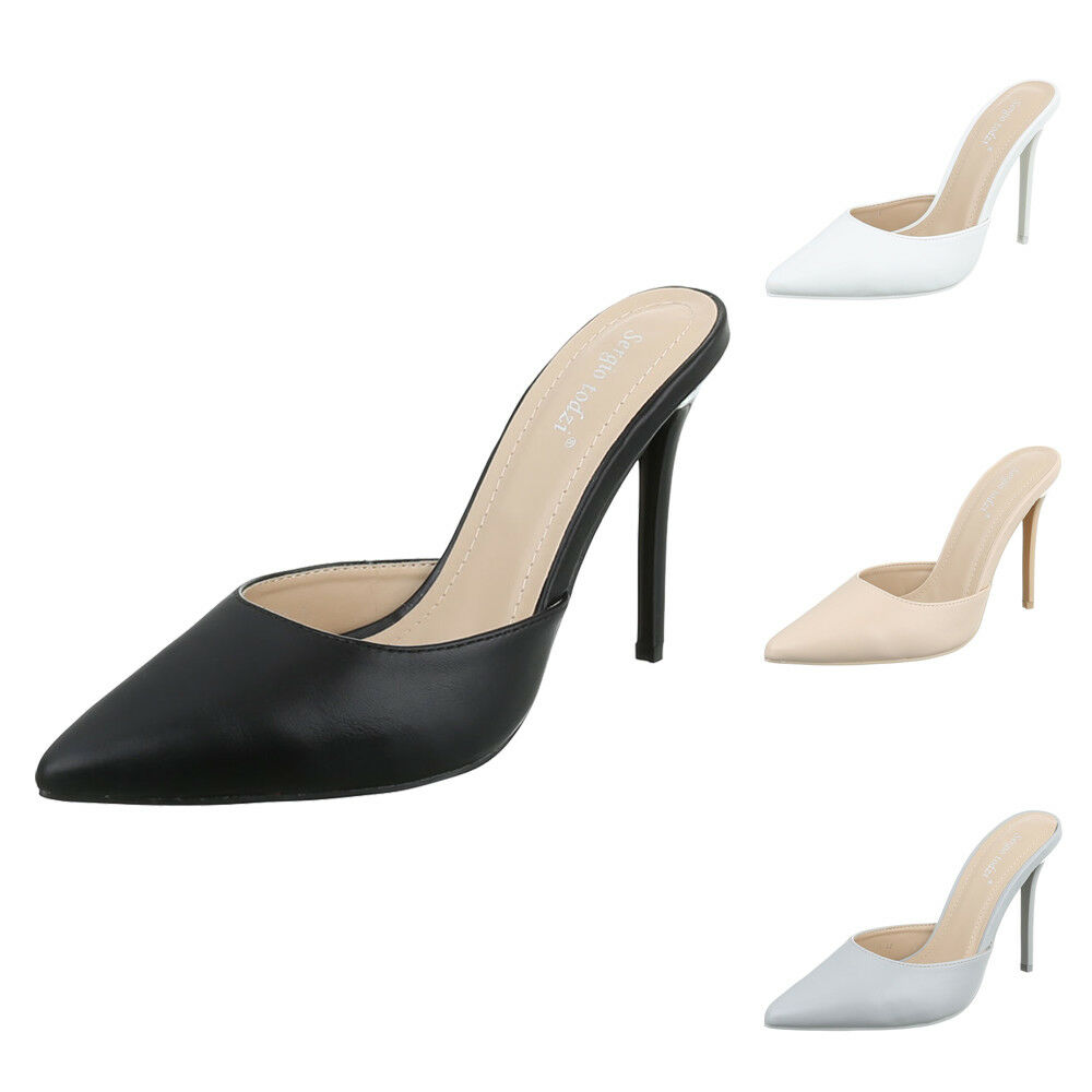 HIGH HEELS PANTOLETTEN PUMPS DAMENSCHUHE 3306 0€