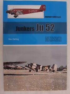 Warpaint-81-Junkers-Ju-52-Color-Profiles-Line-Drawings