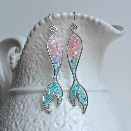 Multi-Color Crystar 925 Silver Wedding Engagement Drop Dangle Earrings Jewelry