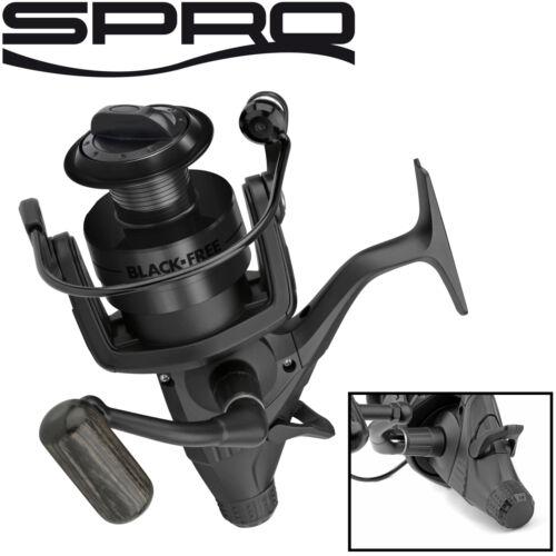 Spro Free LCS 650 Black Rolle Karpfenrolle Freilaufrolle zum Karpfenangeln