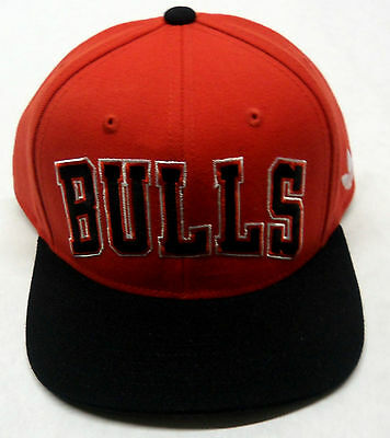 Nba Chicago Bulls Adidas 1966 Retro Flat Brim Cap Hat Snapback Osfa New A Plastic Case Is Compartmentalized For Safe Storage Sporting Goods