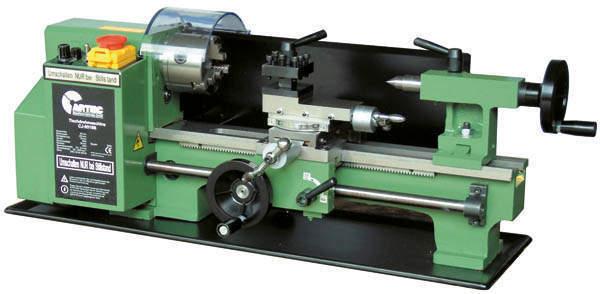 Tisch Drehmaschine C2x300 Spitzenweite 300mm und 230V 250W