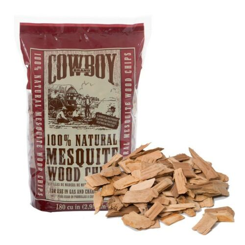 Cowboy Mesquite Wood Chips 750GM