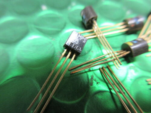 MPSA05 NPN TRANSISTOR WITH GOLD LEADS!! NSC /& Motorola in stock  *10 per sale*