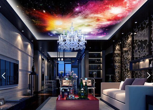 3D Farbeful Star Planet WallPaper Murals Wall Print Decal Deco AJ WALLPAPER GB