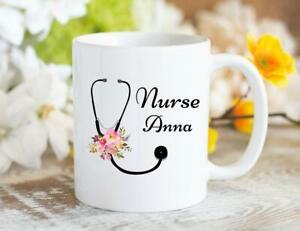 Nursing Coffee Mug Personalized Nurse Mug Graduation Gift Custom Coffee Mug Gift