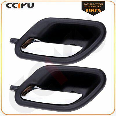 cciyu Chrome Door Handle Interior Front Rear Left Side Door Handle Replacement fit for 1997-2003 BMW 51218226049