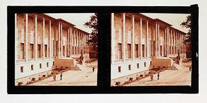 Exposition-coloniale-Paris-1931-Musee-des-colonies-Photo-Plaque-Stereo