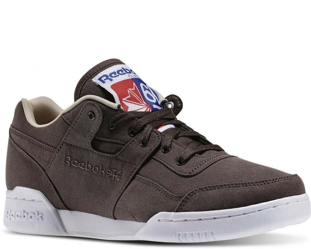 Reebok Sneakers Workout Plus Stone Oatmeal White Size 9-11.5  shoes Msrp  85