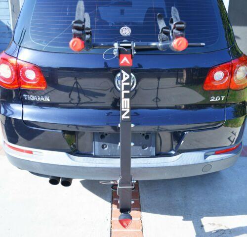 "Allen Sports Deluxe Hitch Mounted Bike Rack Locking 2 Bike 2/"" /& 1.25/"" 3DAYSHIP"