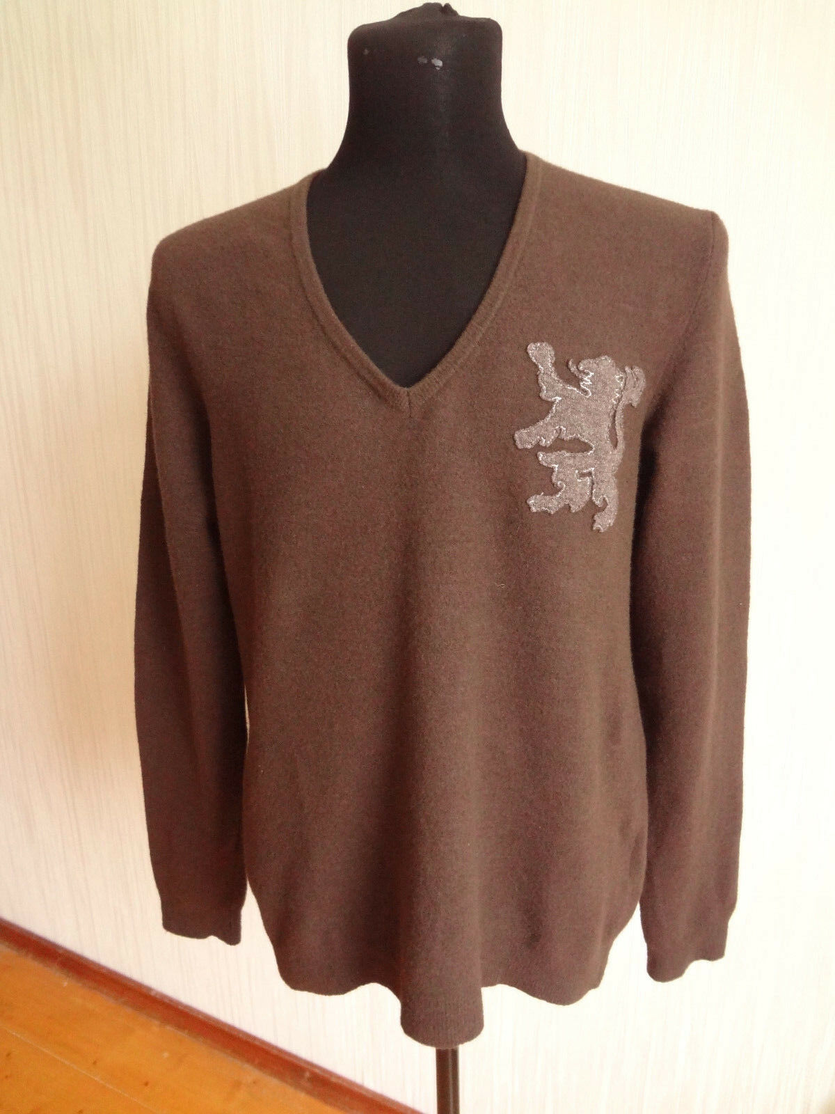 Mauro Grifoni Mens brown Sweater Sz.50