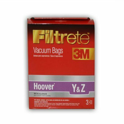 Hoover Y and Z MicroAllergen Bag by Filtrete