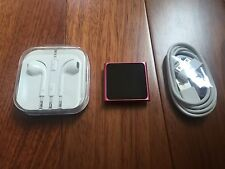 Apple iPod nano 6th Generation Pink (8 GB) Mint Condition