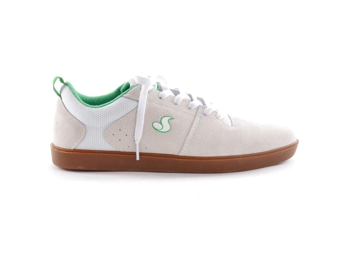 DVS zapatillas Blanco de Skate Zapatos Zapatillas Blanco zapatillas NICA cordón piel de ante d9fd0e