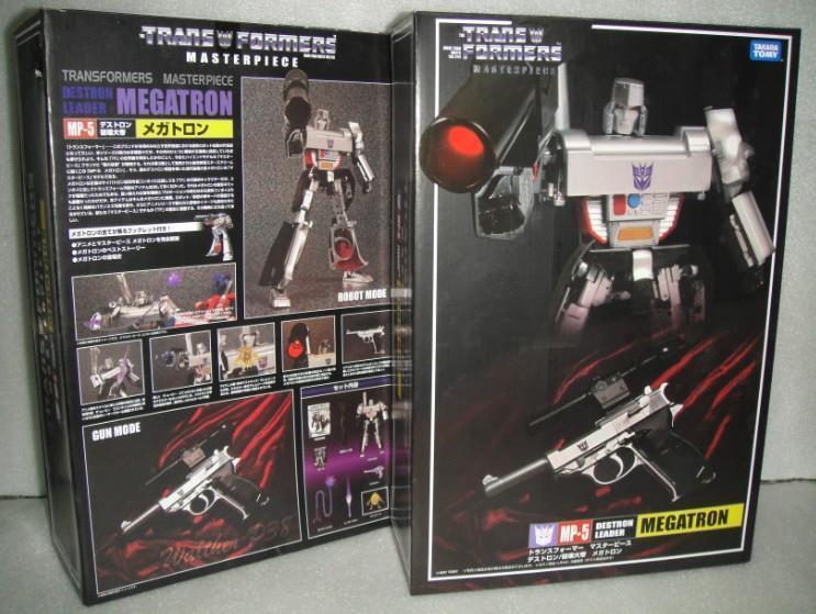 Nuevo Transformers Takara Masterpiece mp-05 Megatron Figura De Acción En Stock