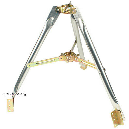 "2 Foot Heavy Duty Tripod Antenna Satellite Dish Mast Mount Rv Up To 2"" Sky6045 Bekwame Vervaardiging"