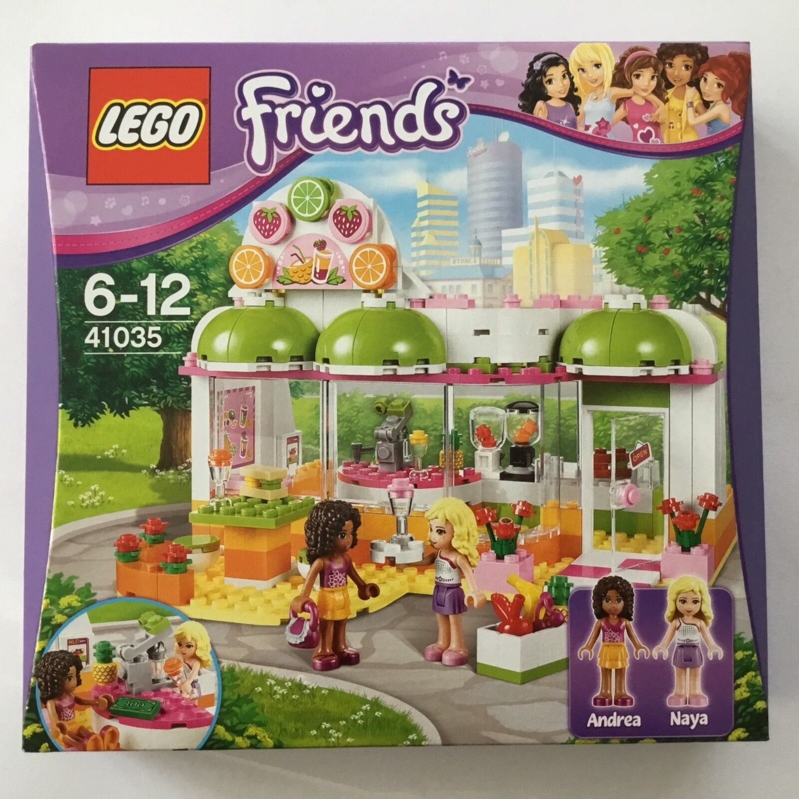 LEGO Friends 40135-Succo di Heartlake - & smoothiebar-NUOVO OVP