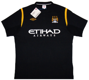 Manchester City 2009-10 Away Jersey (Large) BRAND NEW W TAGS