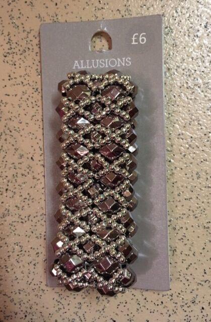 Elasticated Silver Sparkly Bracelet NEW