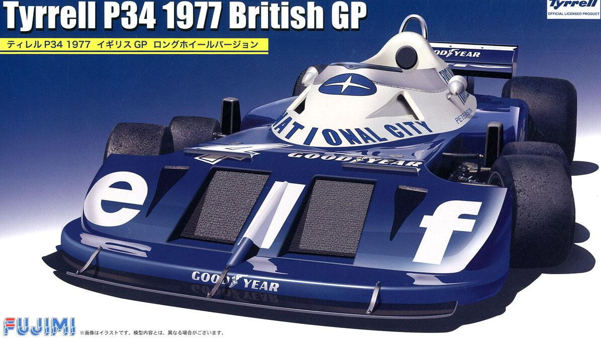 Fujimi Models 1 20 Tyrrell P34 British Grand Prix 1977