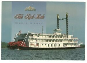 Table-Rock-Steamboat-Lake-Branson-Missouri-Vintage-4x6-Postcard-LS2