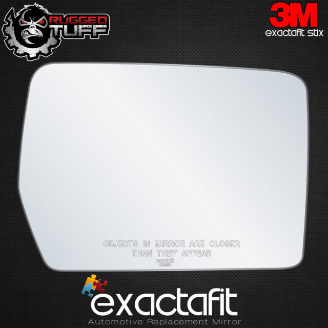 New Ford F Truck Replacement Right Passenger Side Power Convex Mirror Glass